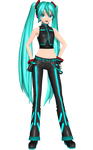 Project Diva Arcade Future Tone Dancer Miku