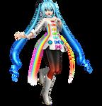 .:Rainbow Line Miku:.