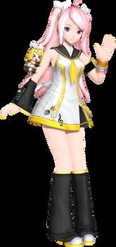 ProjectDiva Arcade Future Tone Rin-Chan Squad Luka