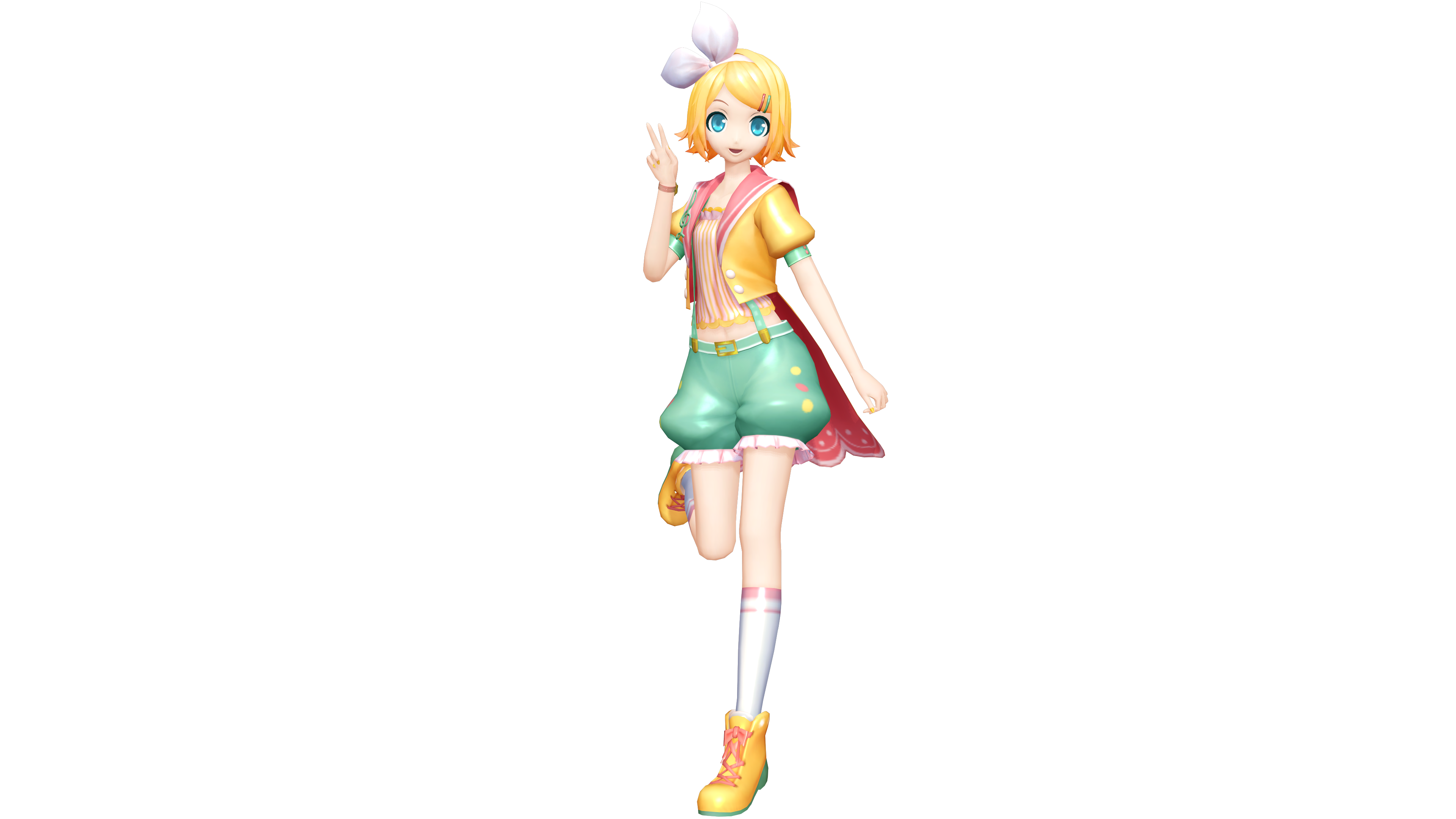 Project diva x lyrical star rin by luke flame on deviantart - Kagamine rin project diva ...