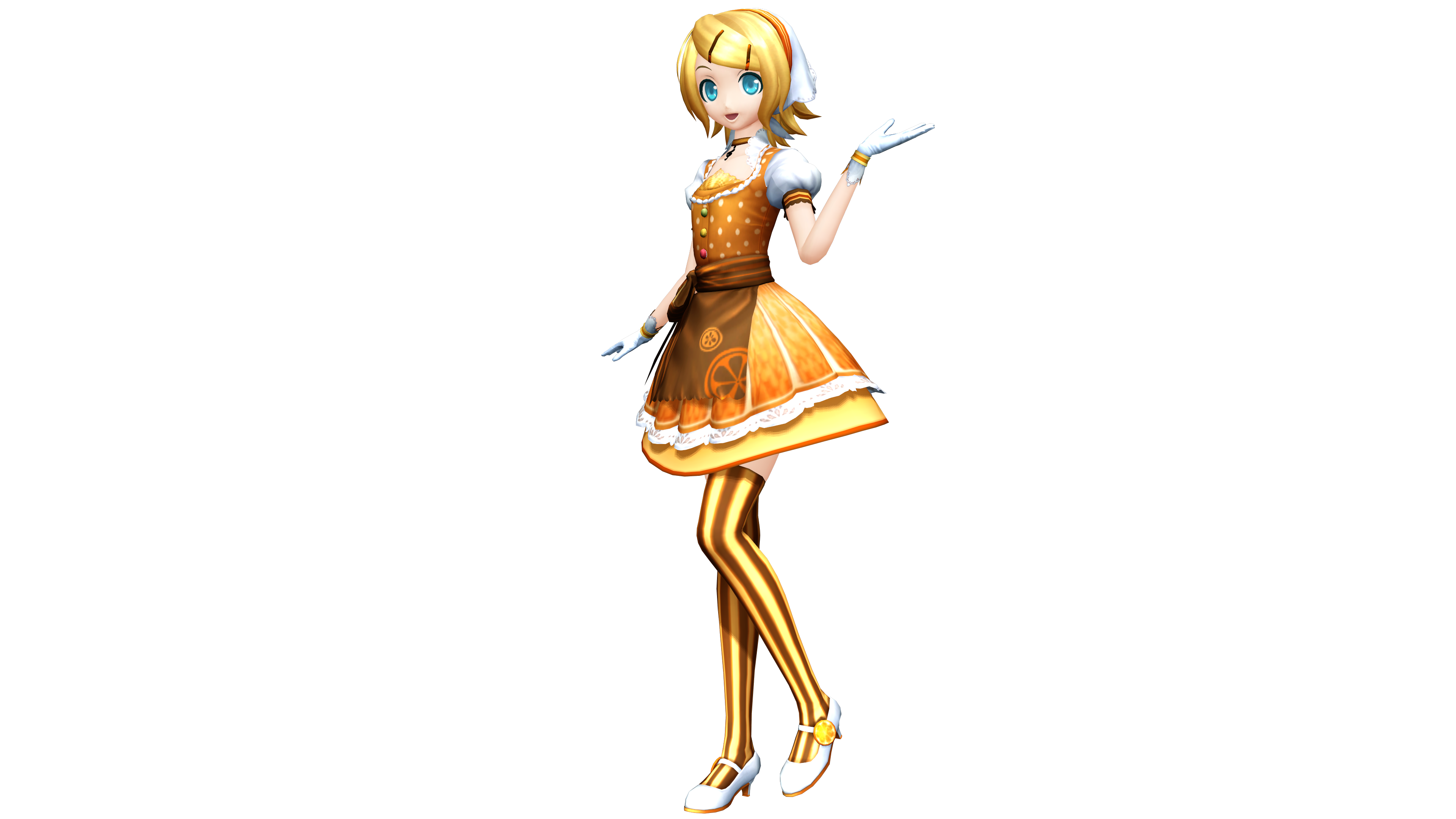Project diva x patisserie gretel rin by luke flame on - Kagamine rin project diva ...