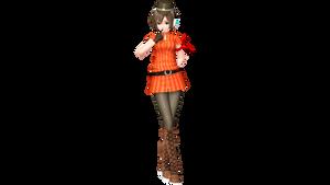 Project Diva Future Tone Cabin Attendant Meiko