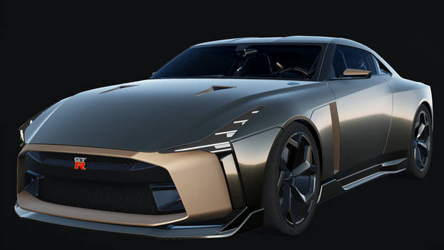 MMD Nissan GT-R 50