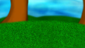 Trees and Grass - FTU Landscape
