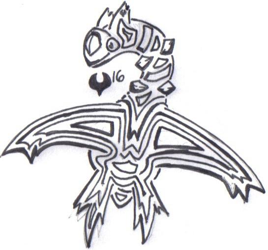 Tribal Lexi Tattoo - shoulder tattoo