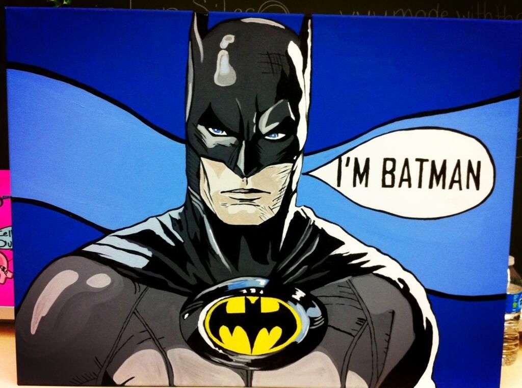 Pop Art Batman Pop Art Batman by syd2...
