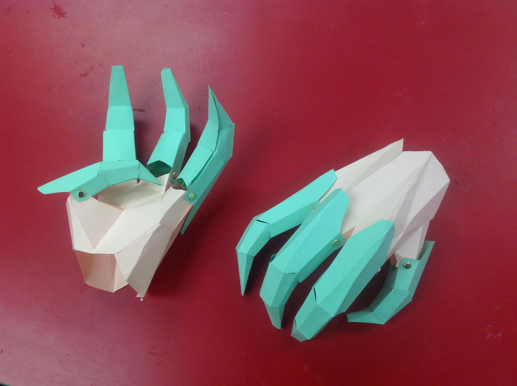 Origami Dragon Claws By SmaugSlayr