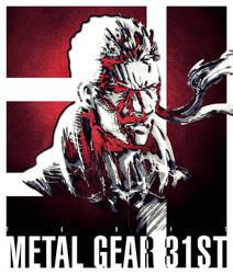Sketch: METAL GEAR 31ST by Teoft