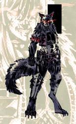 Commission: Hellhound