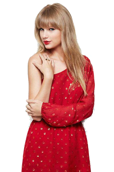 Taylor Swift In Red Dress PNG. by TesselSwift13 on DeviantArt