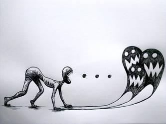 Pacman~ by fallsomnia