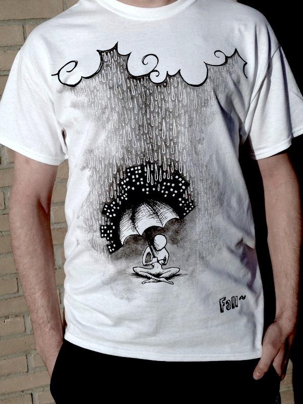T-shirt design 'Devolution' by Fallmusic