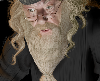 Dumbledore by TheUnknownStrangers