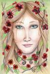 Apple Blossom Woman