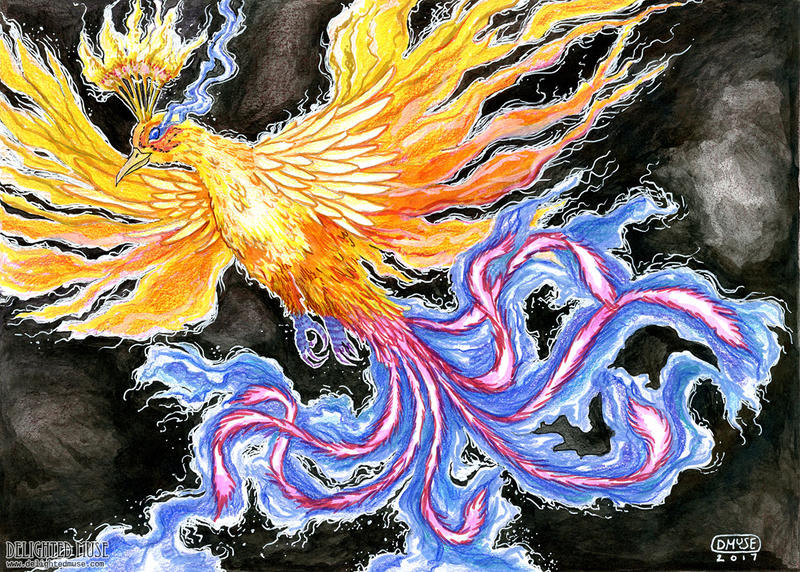 The Firebird's Joy by delightedmuse