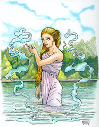 River Maiden by delightedmuse