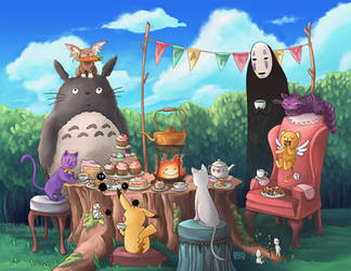 A Forest Tea Party