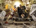 Kratos vs Perseo