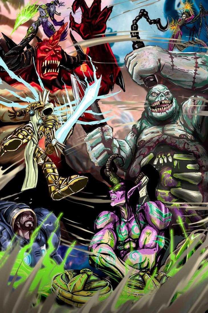 Heroesofthestorm by corArze