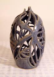 Pierced pot by Recycled-Oxygen