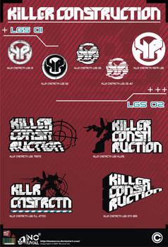 Killer Construction Logos Pack