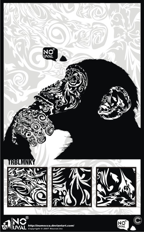 TRBL_MNKY by inumocca