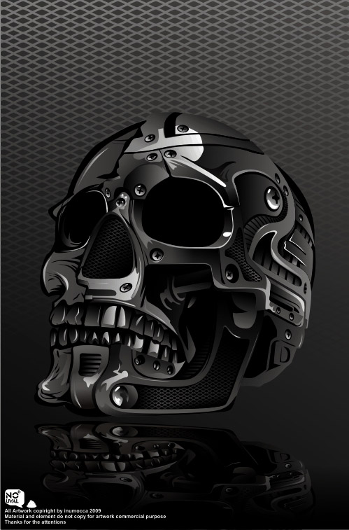 .:Metal Skull:. by inumocca