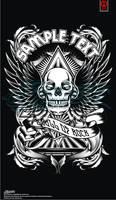 Design for sale _skull wing