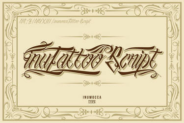 inuTattoo Script + Poster Vector by inumocca