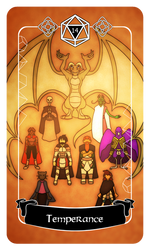 14 - Temperance (The Gods)