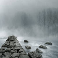 Premade Foggy 02 - Version 2 by desideriasp-stock