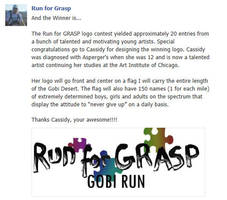 Run for GRASP, Run for Aspergers