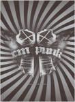 CM Punk loggo-poster
