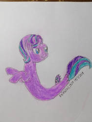 Starlight Glimmer as a Seapony by rainbows2424