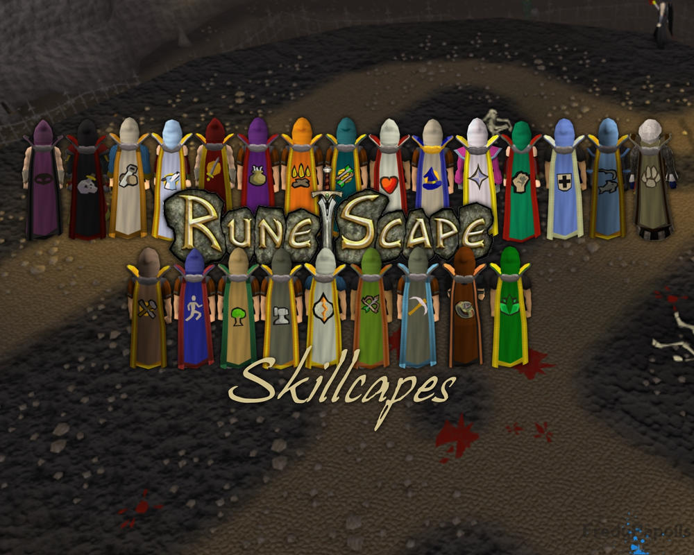 RuneScape all capes Background by FredyPapoilsRunescape 3 Wallpaper