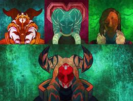 .:Commission:. Tile Avatars 01
