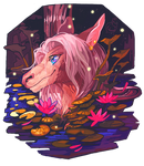 .:Gift Art:. Ahuska by not-unicorn