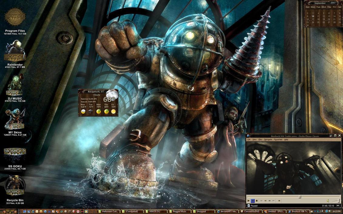 Bioshock 2k7 by ssgoku-23
