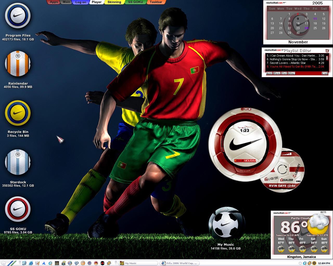 Nike Soccer by ssgoku-23