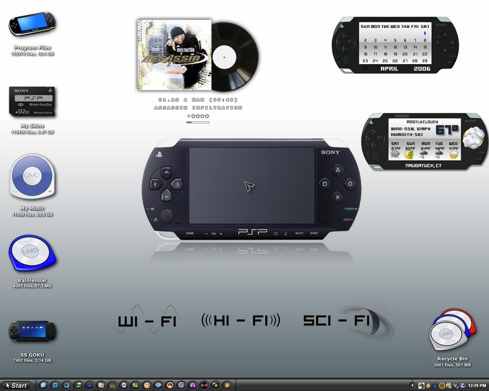 PSP-SHOT by ssgoku-23
