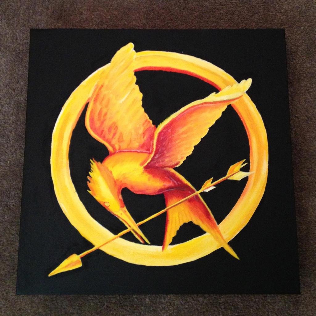 Katniss Everdeen Mockingjay Pin