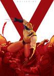 Wolverine Fan-Art Cover-02 by ludocreator