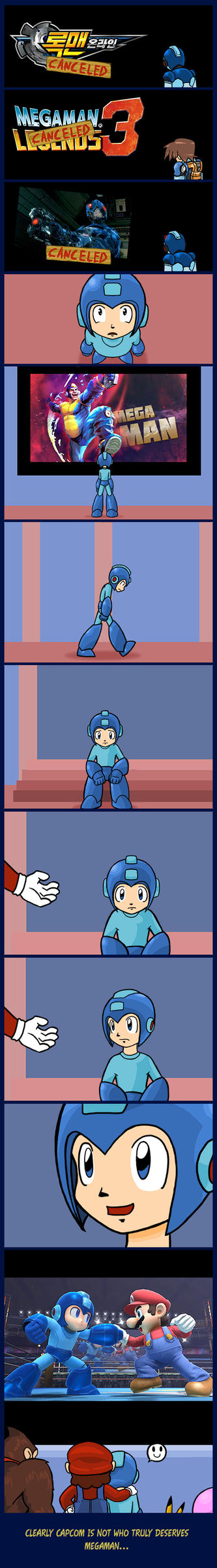 One for Megaman by Camilo-sama