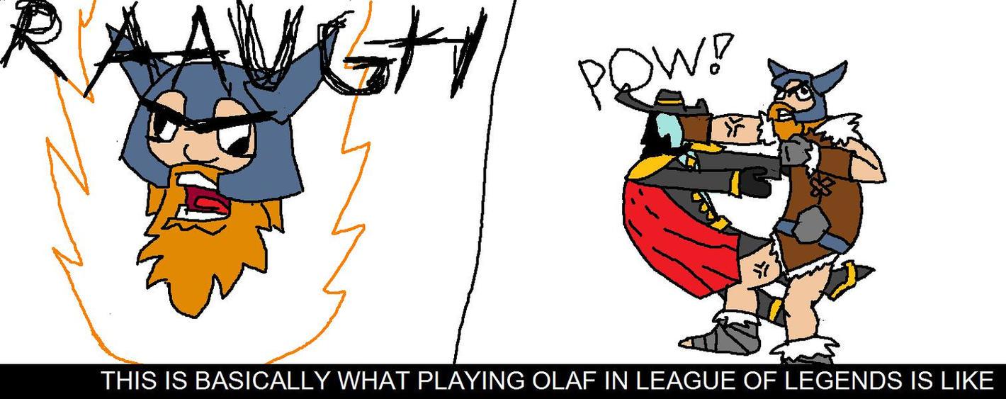 Lol Build Olaf S