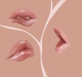 Lips [Practice - 19] by Nishant321go