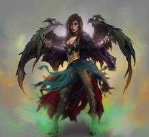 Andariel  [COMMISSION] by Nishant321go