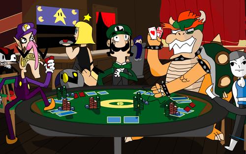 Poker Night by Ryanstoons