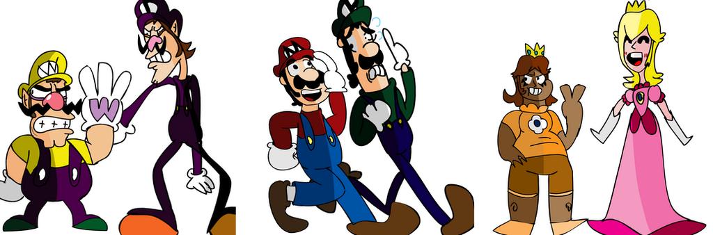 Marios by Ryanstoons