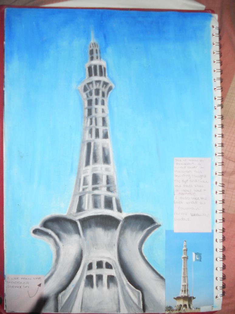 Minar e pakistan by aemon lemon on deviantart