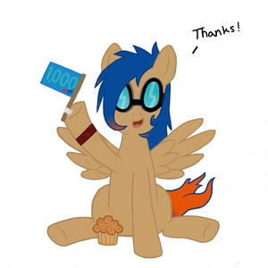A Brony's thanks for the 1000